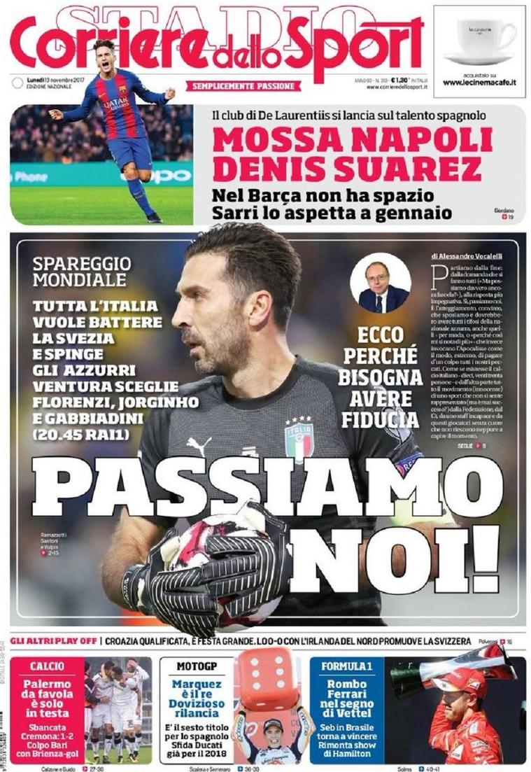 Corriere dello Sport Buffon