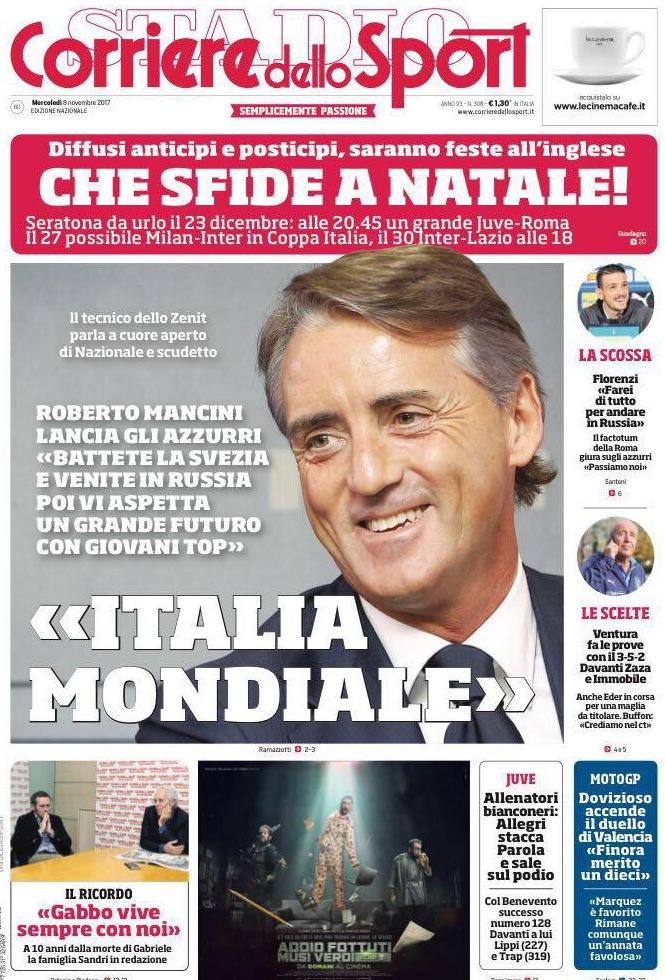 Corriere dello Sport Mancini