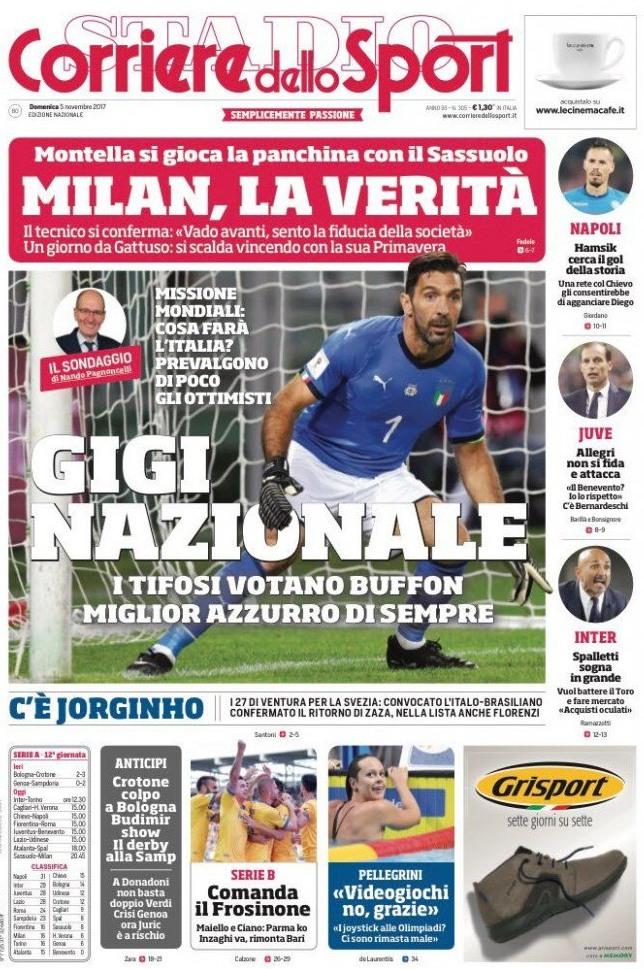 Corriere sport Gigi nazionale