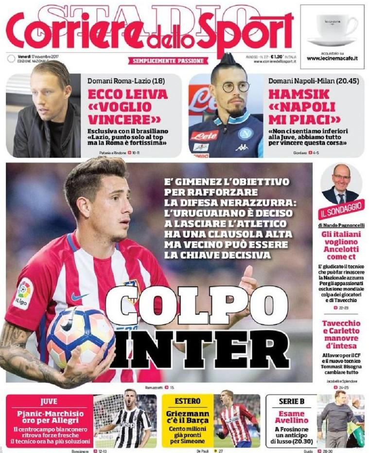 Corriere sport Inter