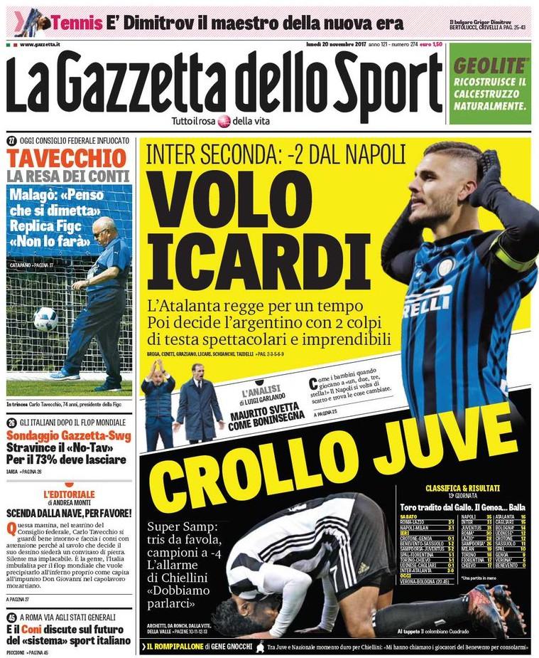 Gazzetta Icardi Juve
