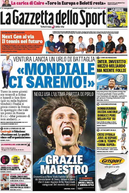 Gazzetta Spareggio