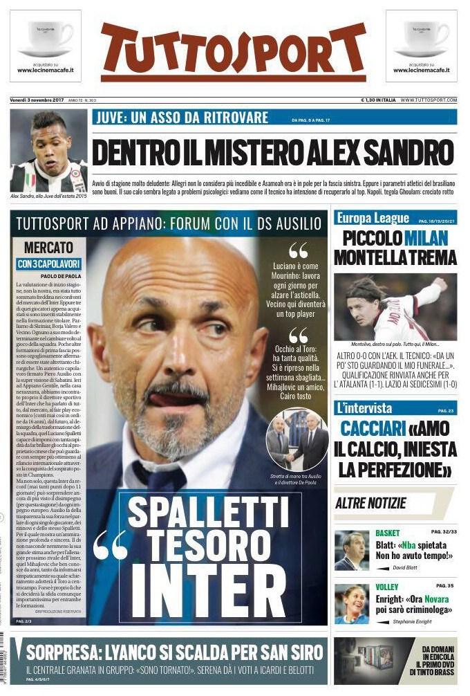 Tuttosport Spalletti