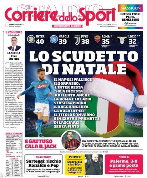 Corriere scudetto natale