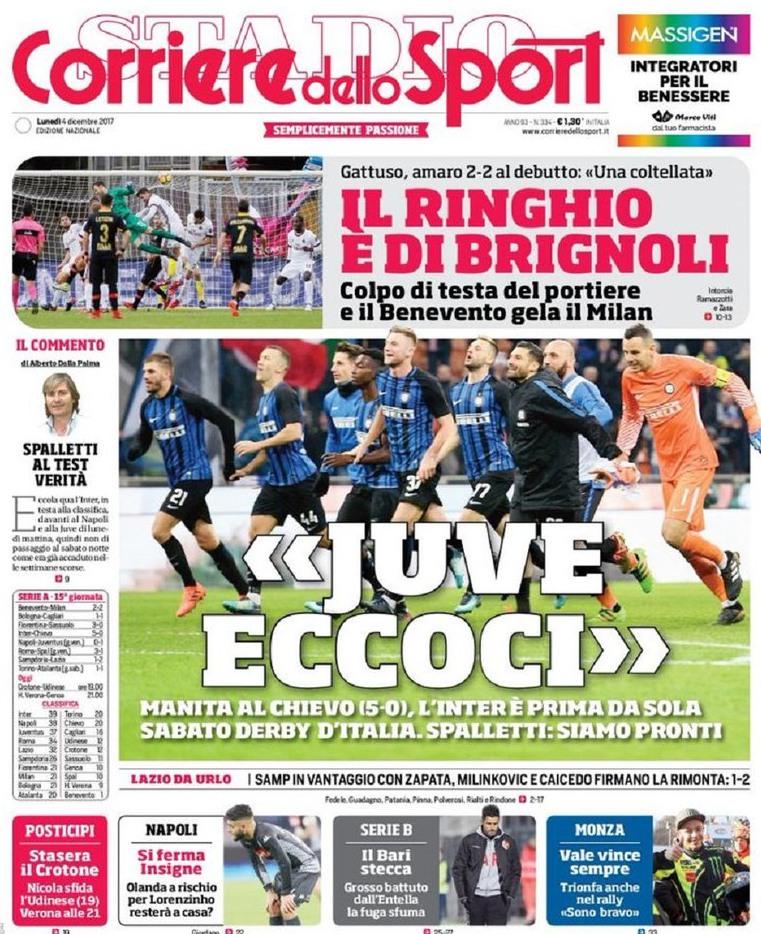 Corriere sport Brignoli