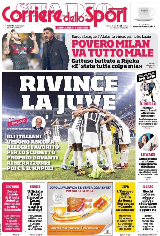 Corriere sport rivince Juve