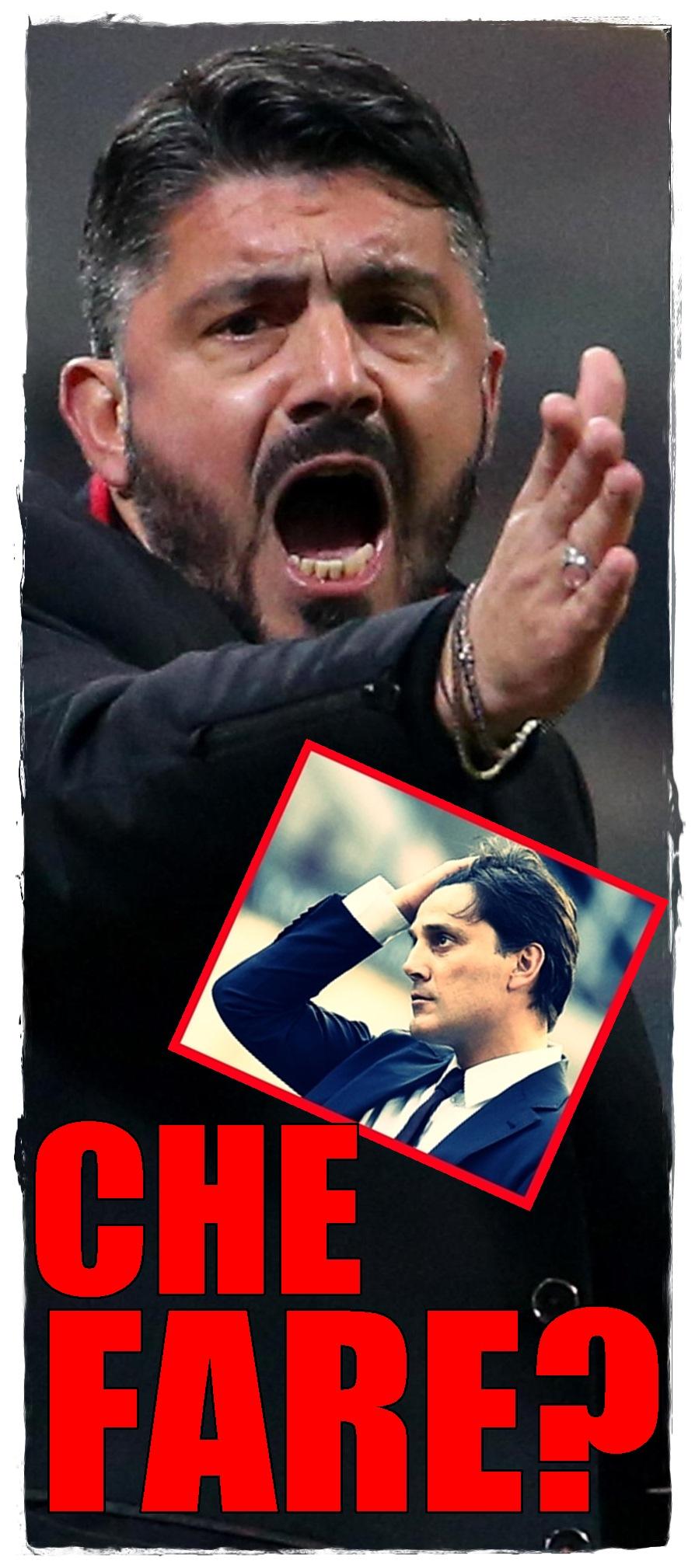 Soccer: Serie A; Milan-Atalanta