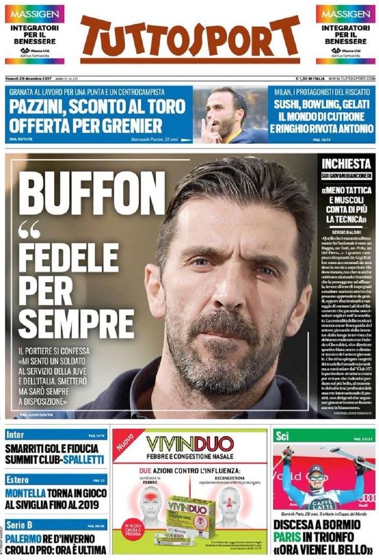 Tuttosport Buffon
