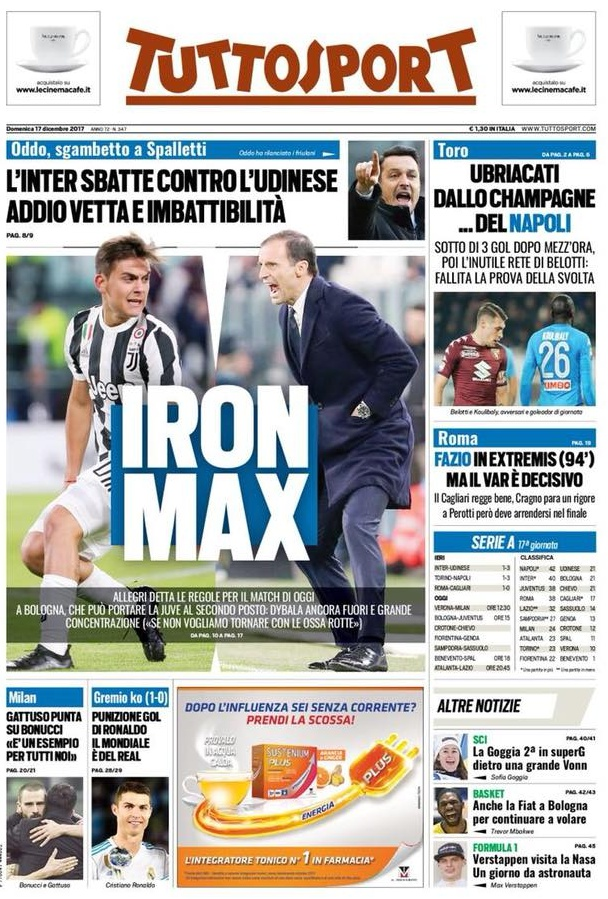 Tuttosport Iron Max