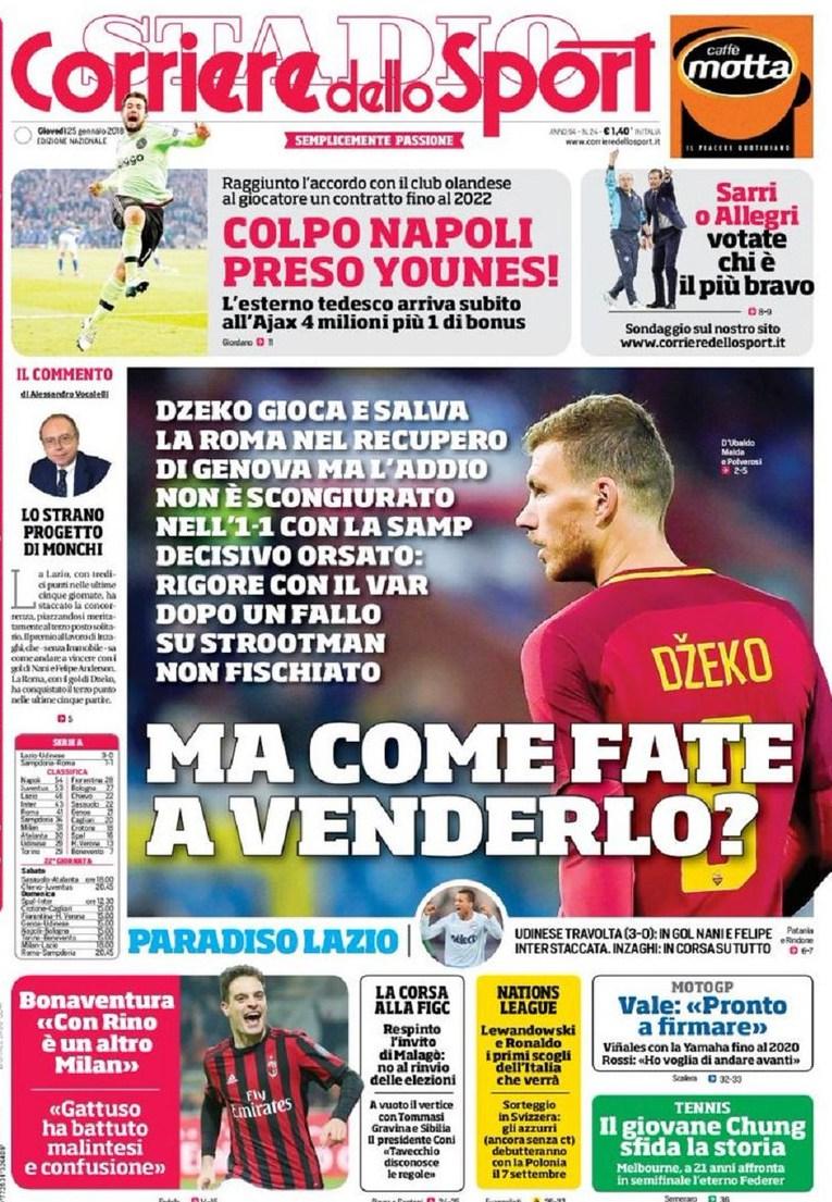Corriere Dzeko