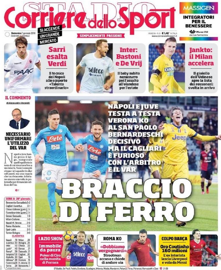 Corriere JUve vince