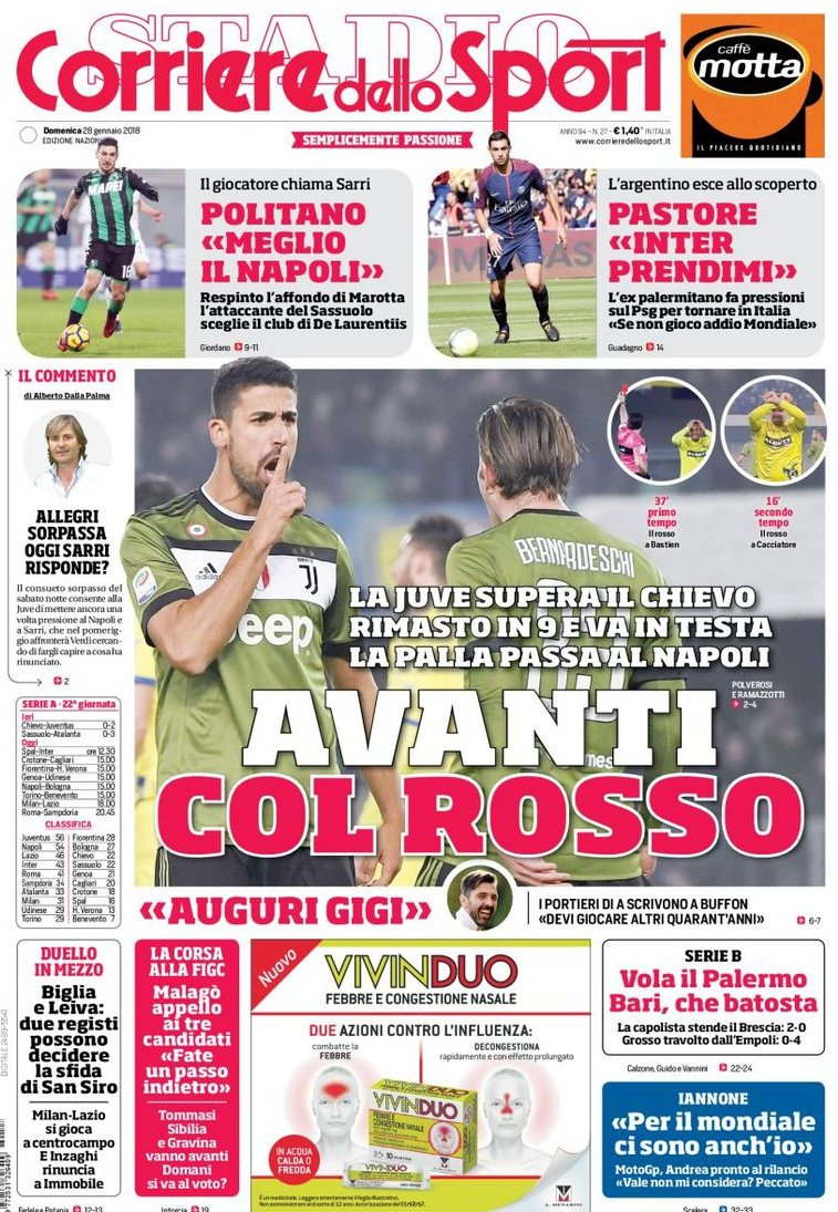 Corriere Juve rosso