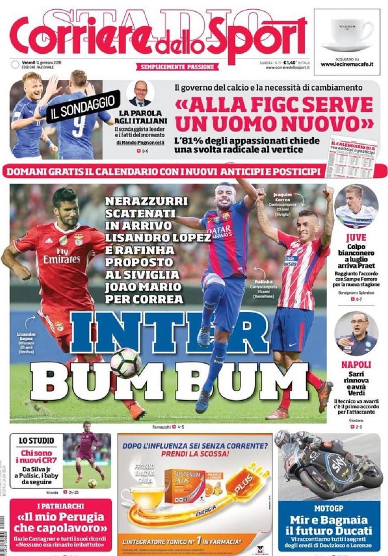 Corriere Sport Inter bum