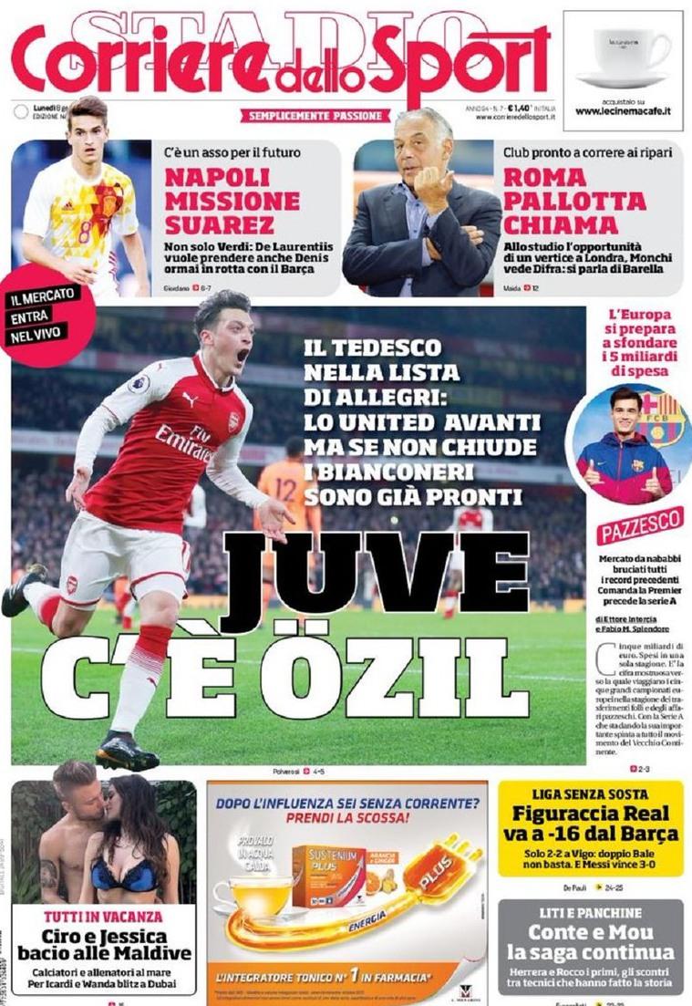 Corriere Sport Ozil
