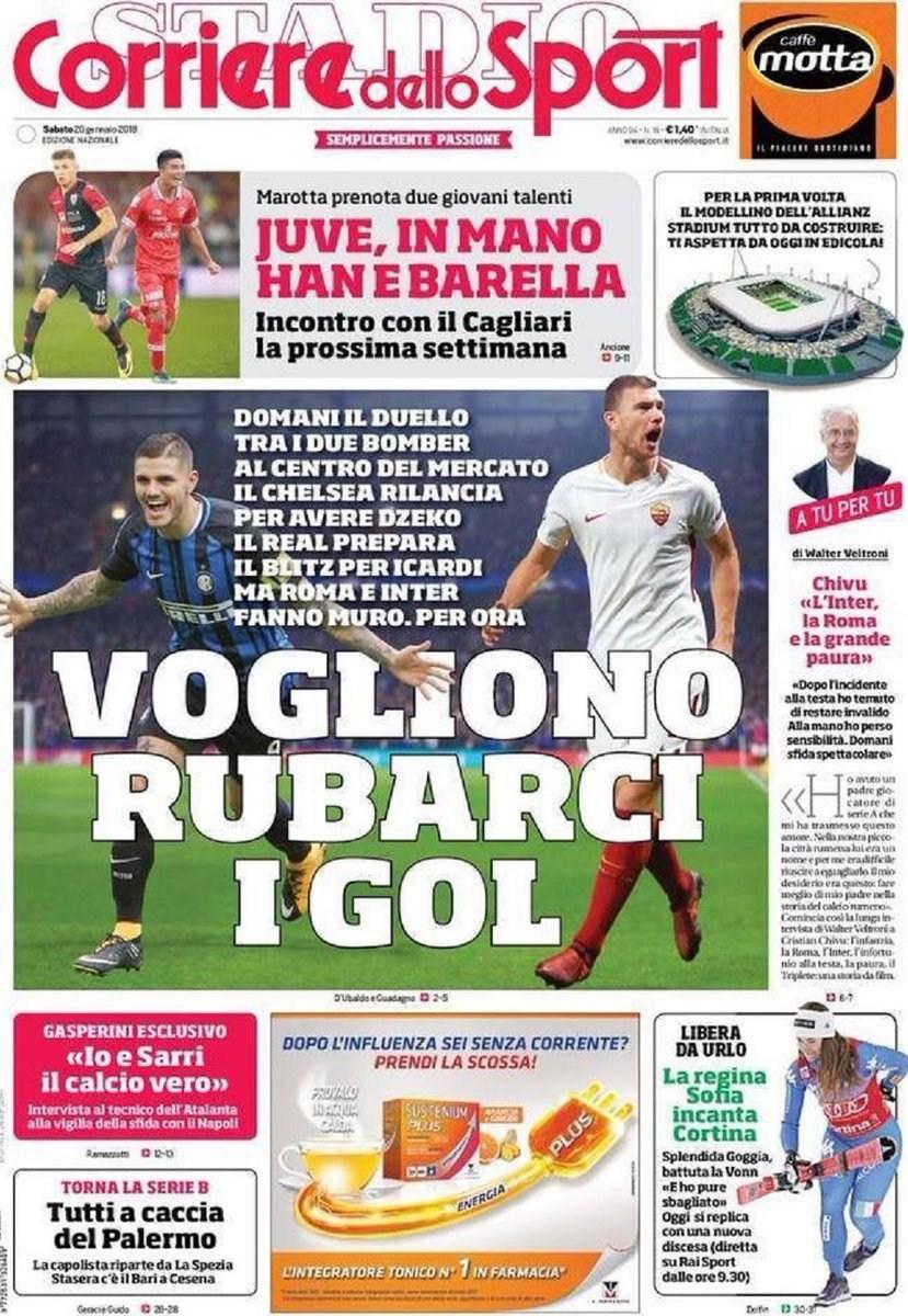 Corriere Sport Rubarci i gol