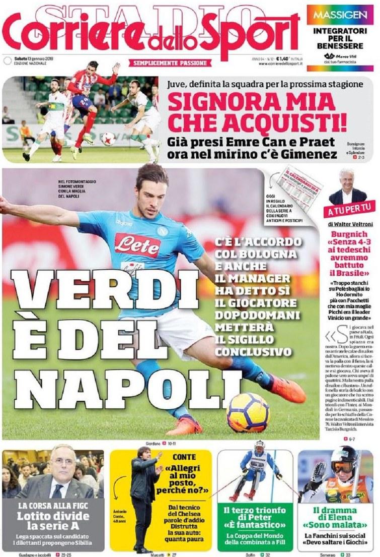 Corriere Verdi Napoli