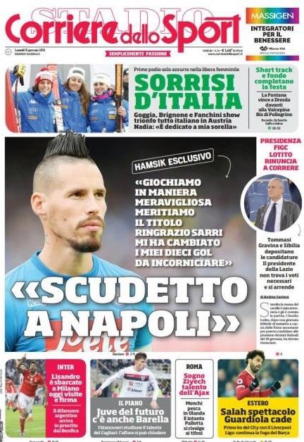 Corriere sport Hamsik