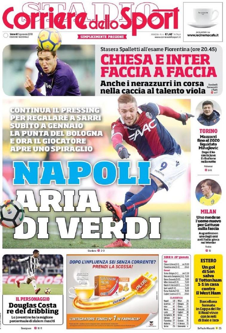 Corriere sport Verdi