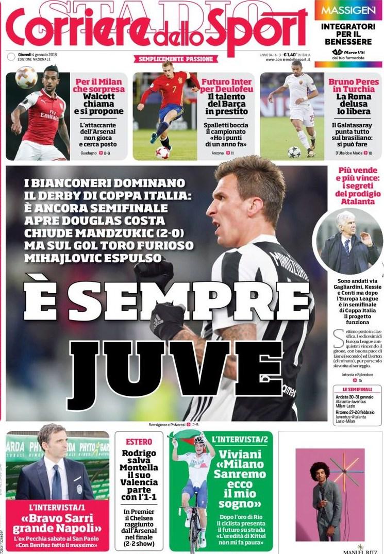 Corriere sport sempre Juve