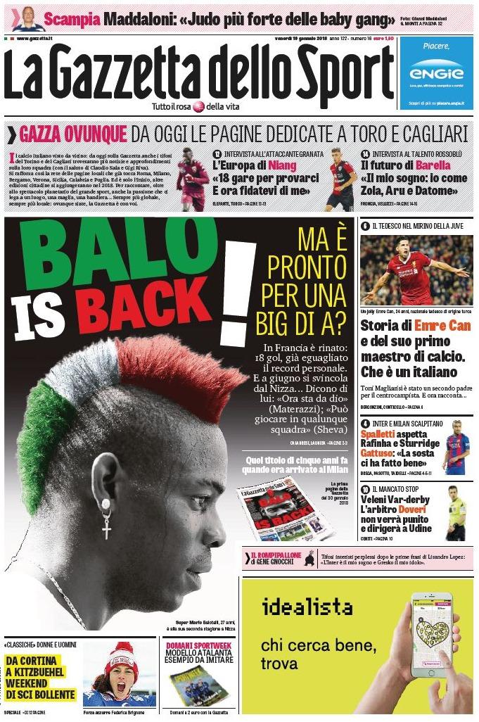Gazzetta Balotelli