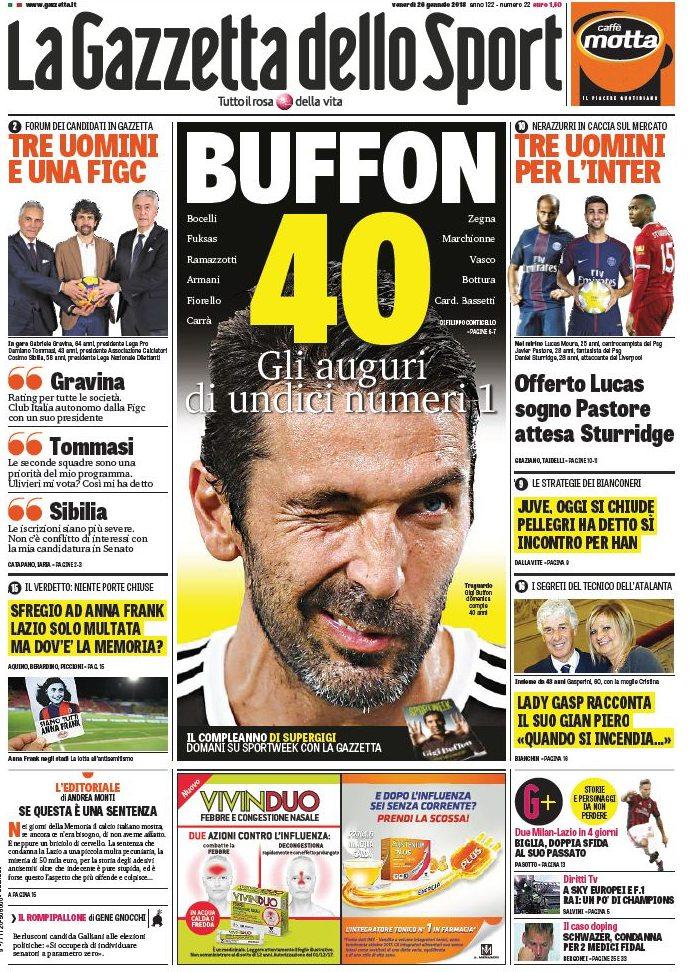 Gazzetta Buffon 40