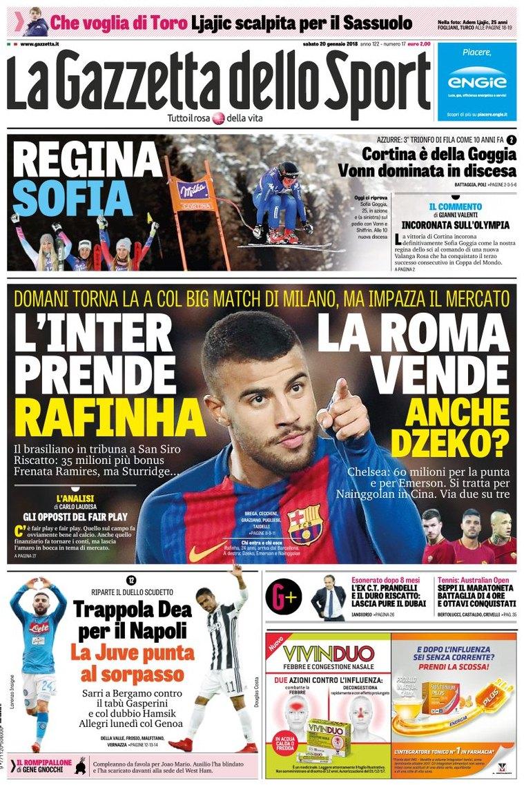 Gazzetta Inter Rafinha