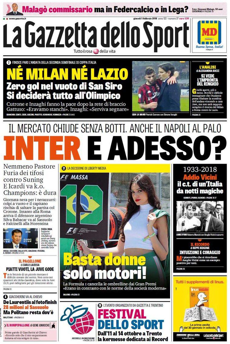 Gazzetta Inter adesso