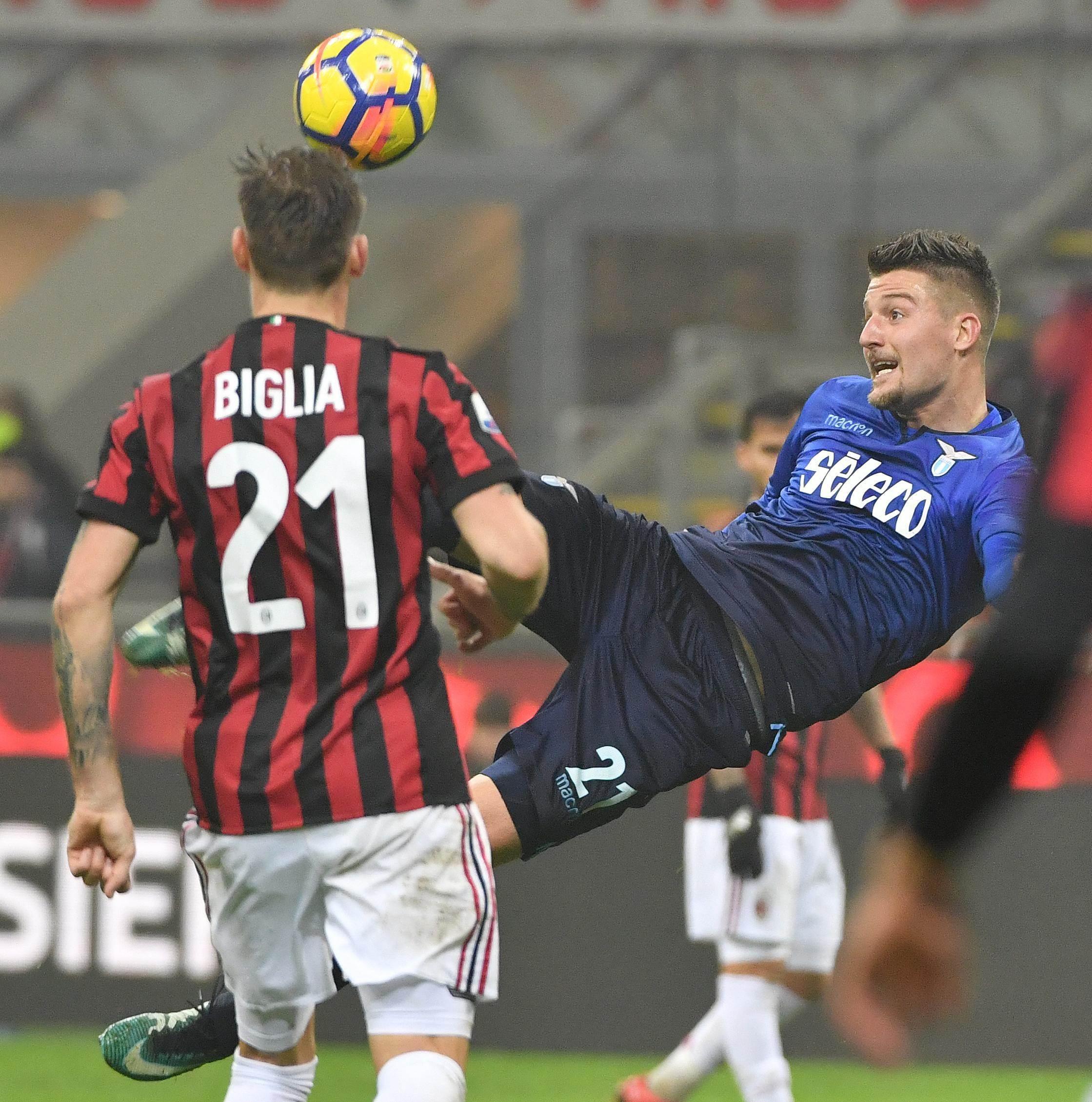 Soccer: Italy Cup; Milan-Lazio