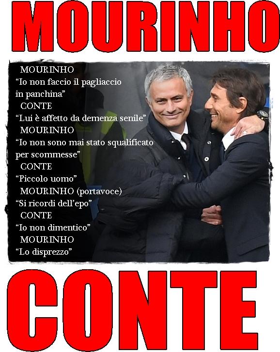 Mourinho chiude la querelle con Conte: