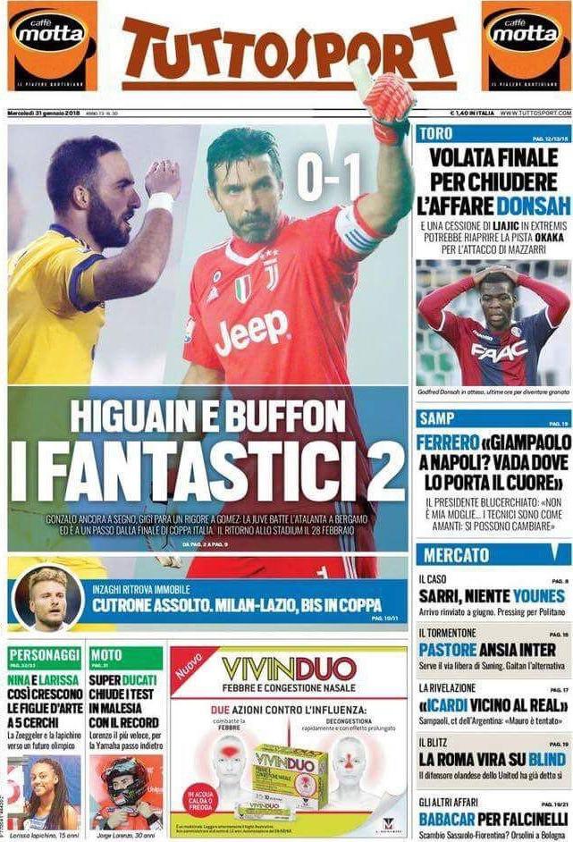 Tuttosport Fantastici 2