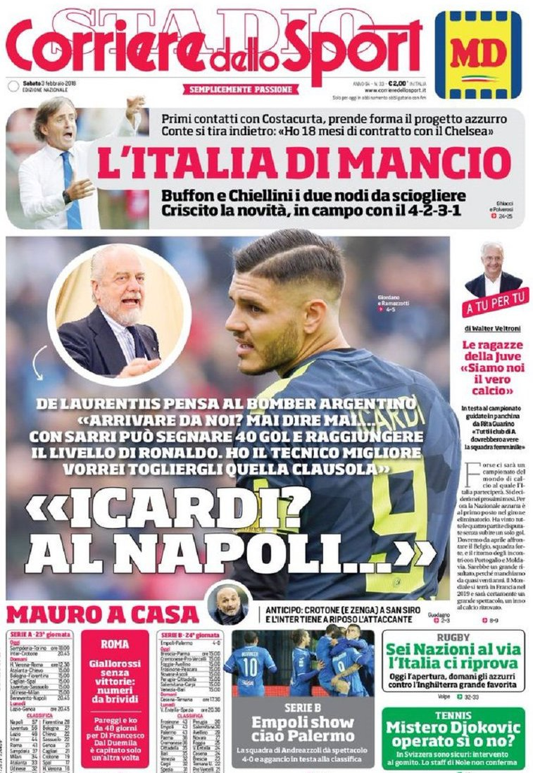Corriere Icardi