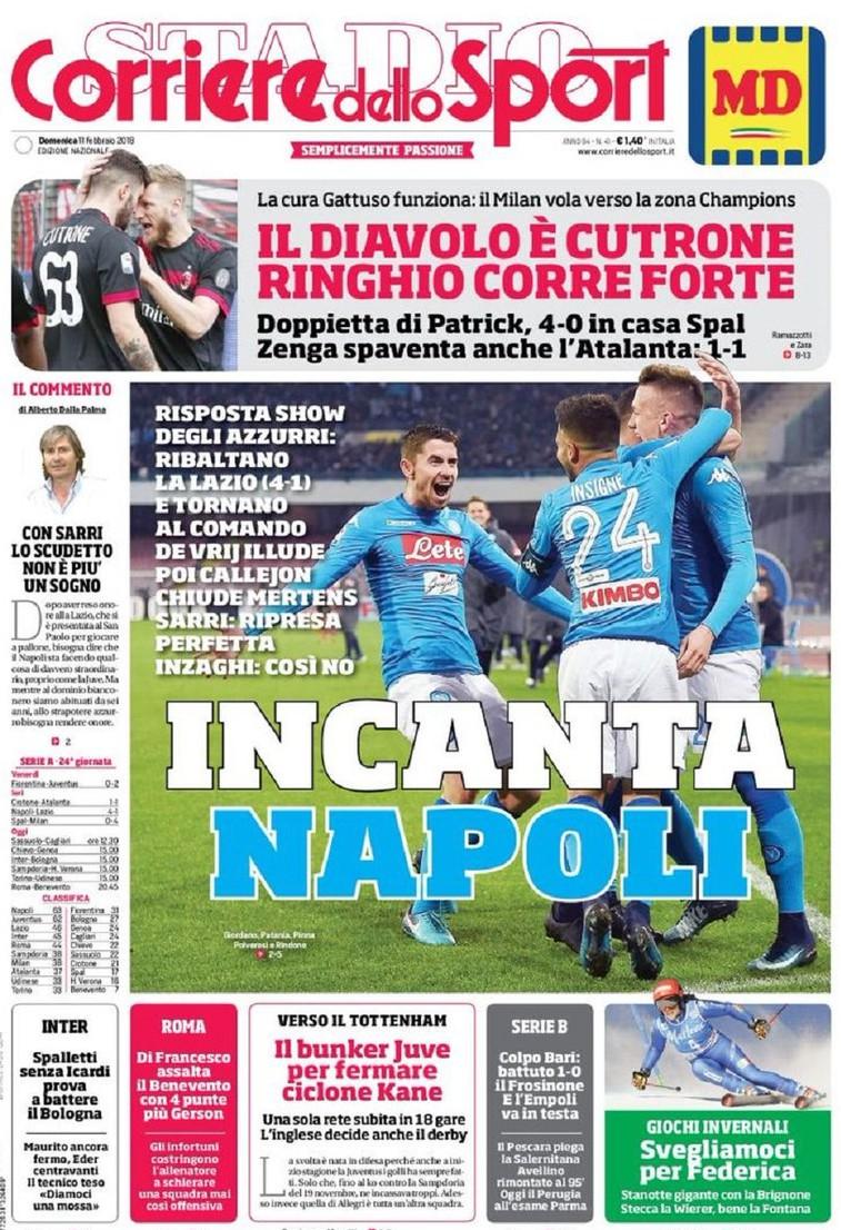 Corriere Incanta Napoli