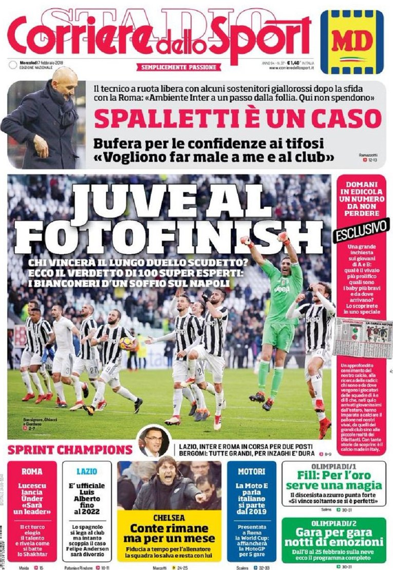 Corriere Juve fotofinish
