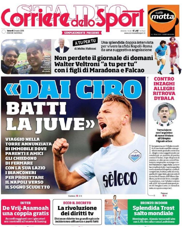 Corriere sport Ciro