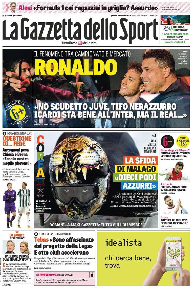 Gazzetta Ronaldo