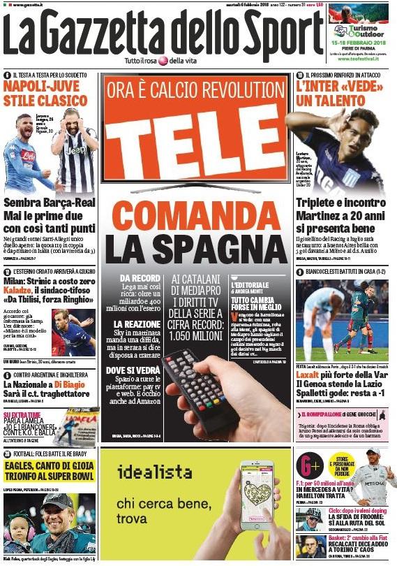Gazzetta telecomanda