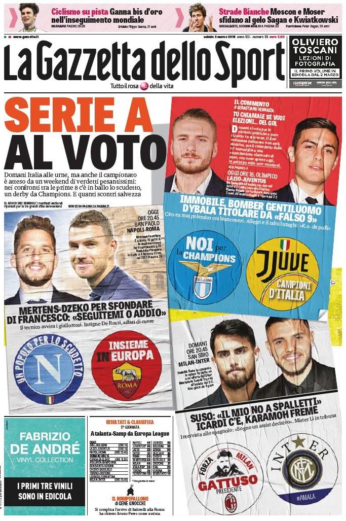 Gazzetta voto