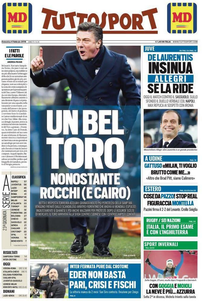 Tuttosport Bel Toro