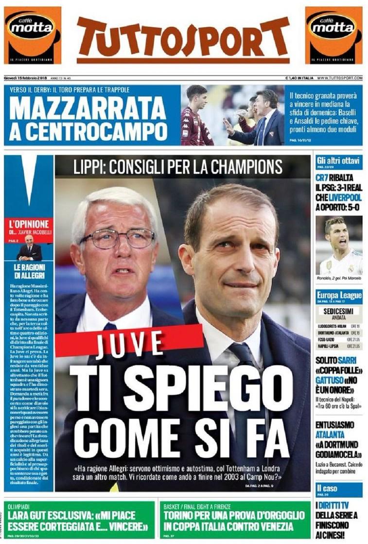 Tuttosport Mazzarrata