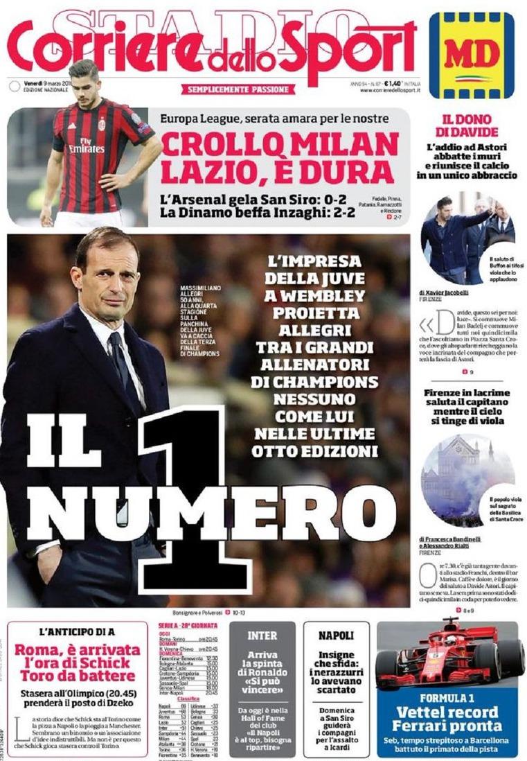 Corriere Allegri n1