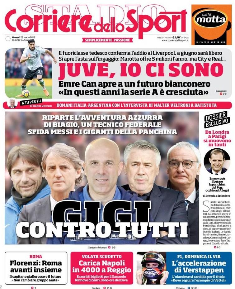 Corriere Sport Gigi