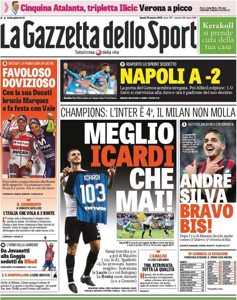 Gazzetta Icardi show