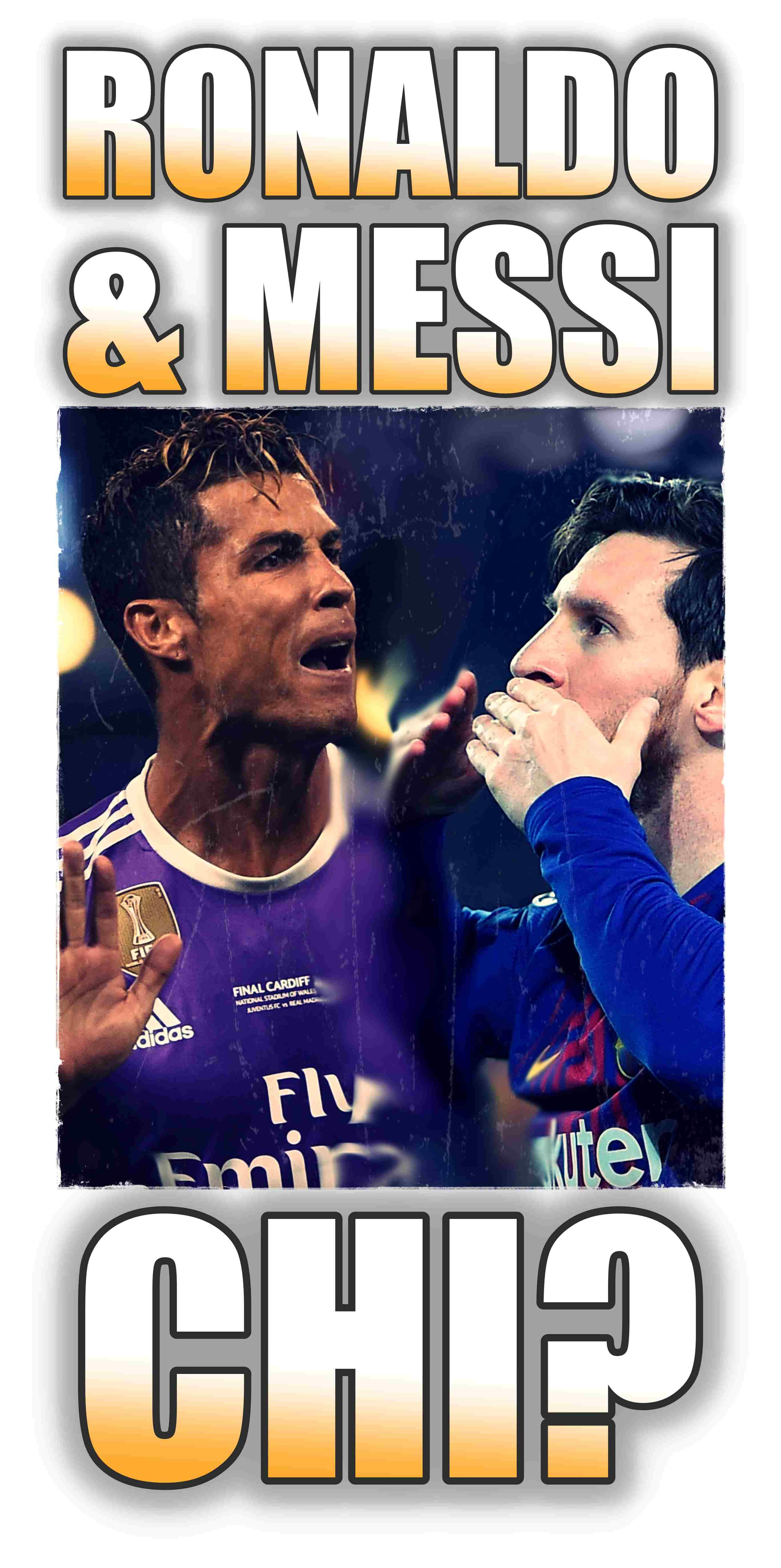 Ronaldo Messi sorteggio 2