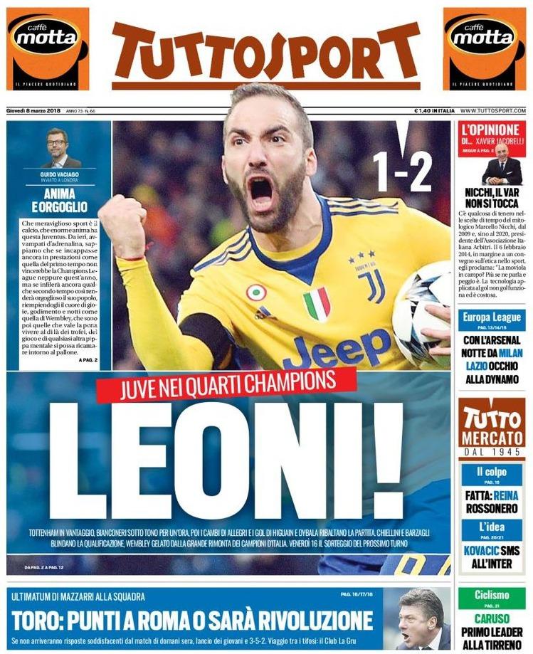 Tuttosport Leoni