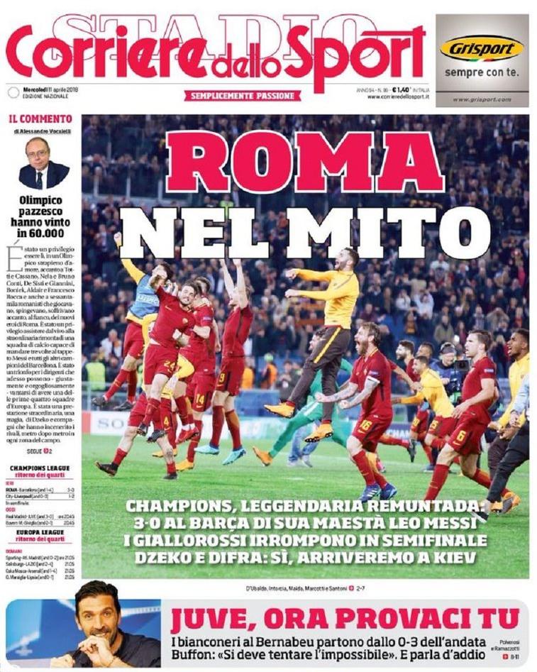 Corriere roma mito