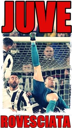 Ronaldo rovesciata Juve real