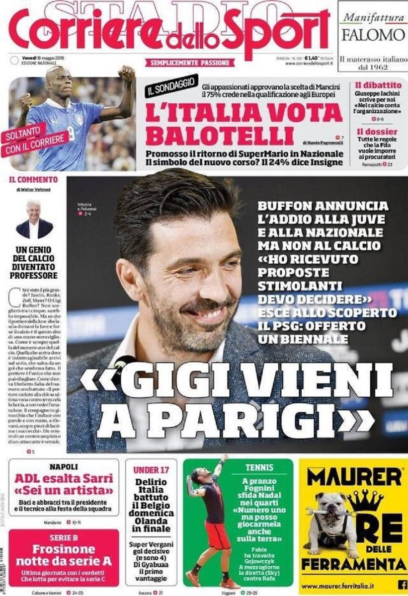 Corriere Gigi Parigi