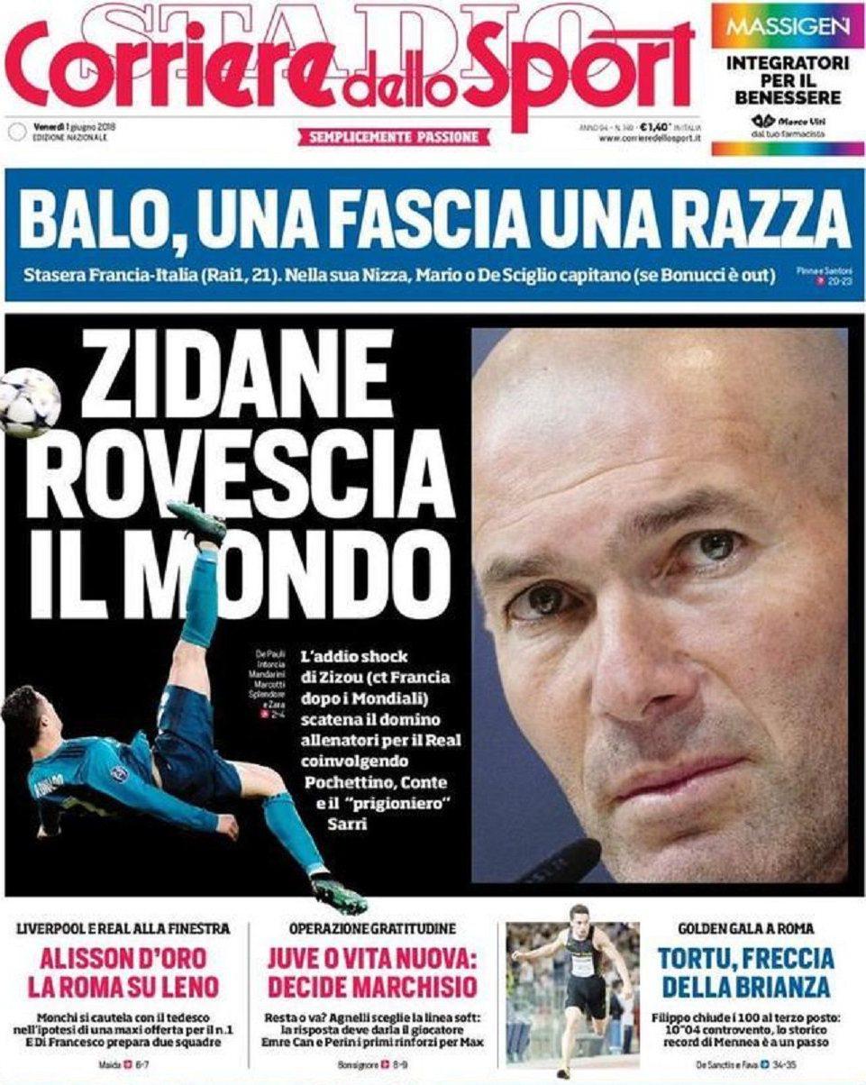 Corriere Zidane