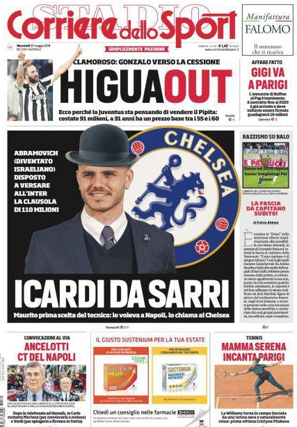 Corriere sport Icardi