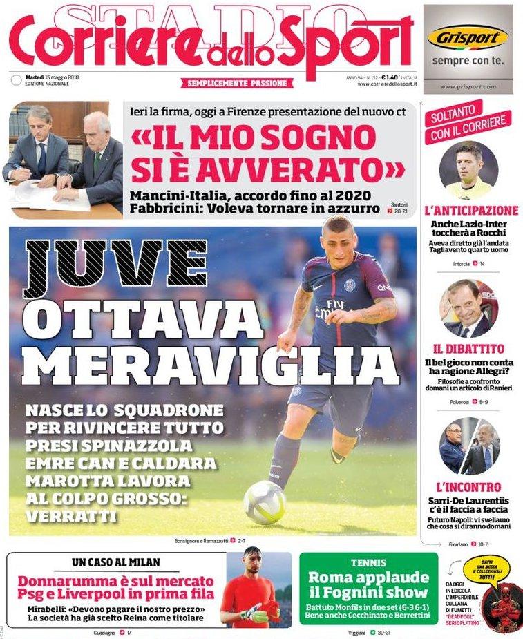 Corriere sport Mancini